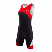 TYR Womens Padded Carbon Zip Back Tri Suit